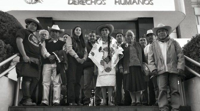 Pronunciamiento de la asociación Mexicanos Unidos con referencia al ataque del mal gobierno en contra de la comunidad Otomí de San Francisco Xochicuautla