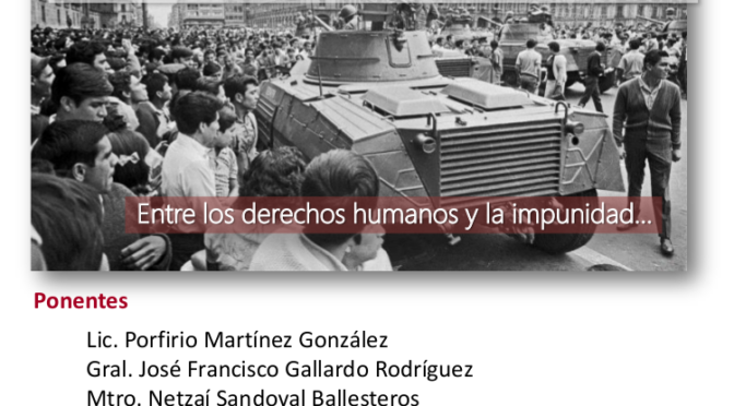 Coloquio: La nueva Ley de Seguridad Interior