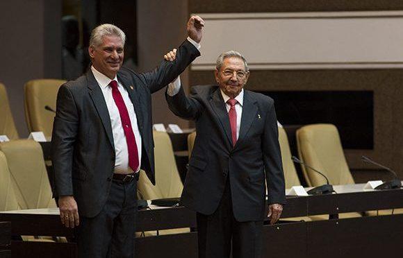 Saludamos la elección del compañero Miguel Díaz-Canel como nuevo presidente de Cuba