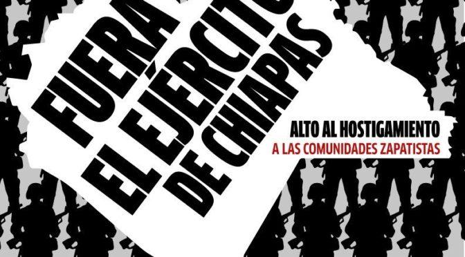 Pronunciamiento de Mexicanos Unidos ante la campaña paramilitar en contra de las comunidades zapatistas.