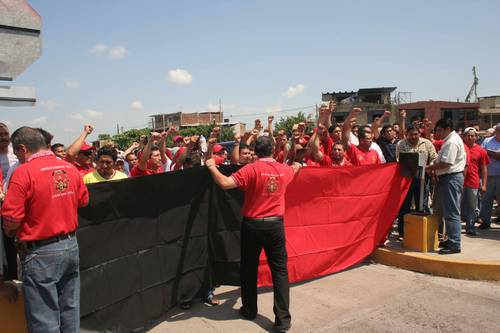 En apoyo a la lucha de los trabajadores de Arcelor Mittal en huelga